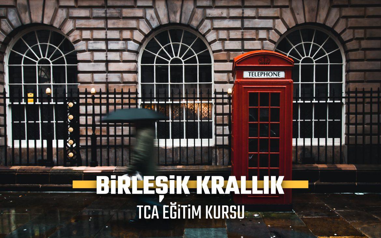 BİRLEŞİK KRALLIK ERASMUS+ TCA EĞİTİM KURSU