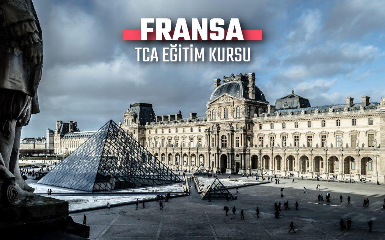 FRANSA ERASMUS+ TCA EĞİTİM KURSU